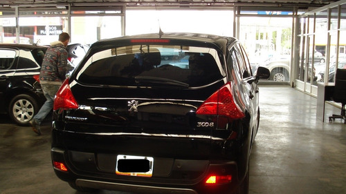 peugeot 3008 premium plus mt modelo 2010 color negro