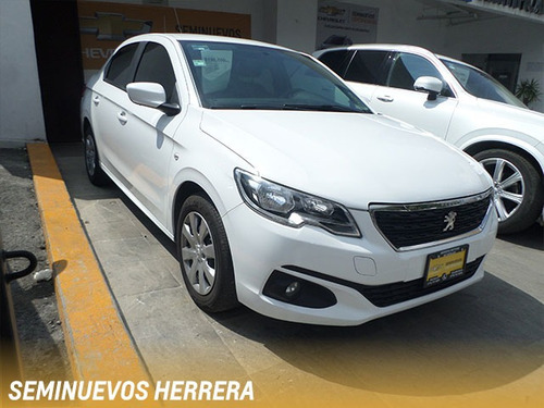 peugeot 301 active sedan mt 2018 blanco