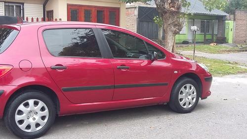 peugeot 307 1.6 16 v  5 puertas - año 2007