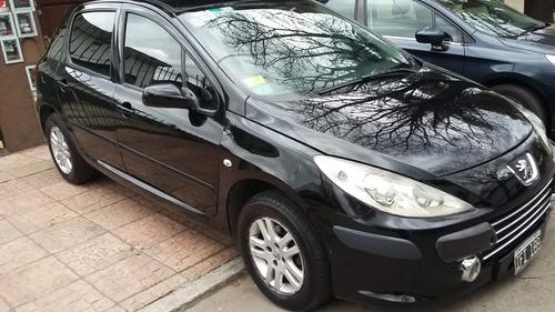 peugeot 307 1.6 xs 5 puertas  /2009