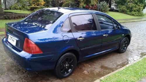 peugeot 307 2007 azul gasolina
