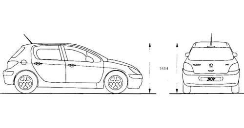 Peugeot 307 Manual Taller Reparacion Diagramas Ofert Espa U00f1ol   12 00 En Mercado Libre