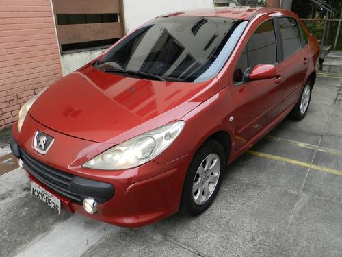 peugeot 307 motor 2.0 2007 vermelho automático sedan feline
