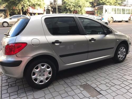 peugeot 307 naftero 5 puertas unico titular color beige fcio