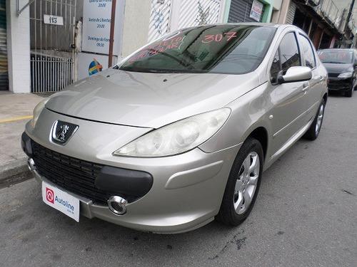 peugeot 307 sedan 1.6 pres c/ teto solar flex 2010