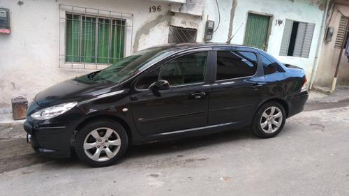 peugeot 307 sedan presence flex 1.6 16v preto