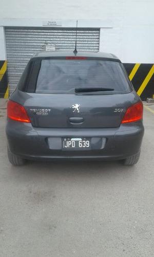 peugeot 307 xs 1.6 5p 110 cv 2011 color gris oscuro