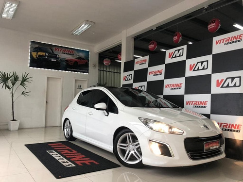 peugeot 308 1.6 active 16v flex 4p manual