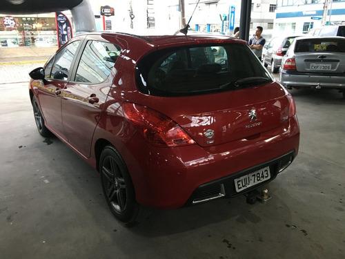 peugeot 308 1.6 griffe thp 16v gasolina 4p automático 20...