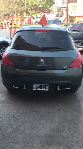 peugeot 308 1.6 hdi active 2013 impecable!