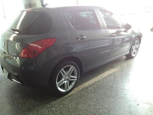 peugeot 308 2.0 feline 143cv, 2014, gris, 5 puertas