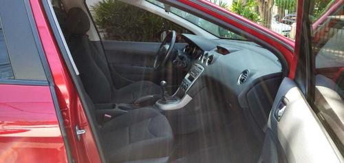 peugeot 308 active 1.6 5 puertas nafta color bordo