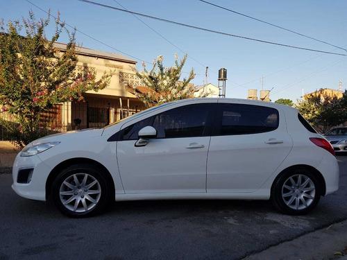 peugeot 308 active 2014 87.000 km blanco 5 puertas gnc