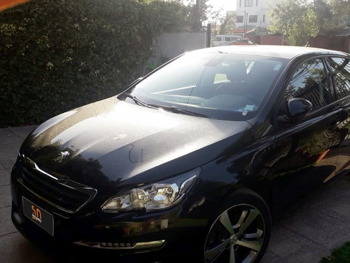 peugeot 308 allure 1.2 at bencina poco km