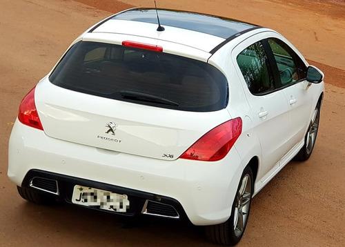 peugeot 308 allure 2.0 flex 16v 5p aut 2013