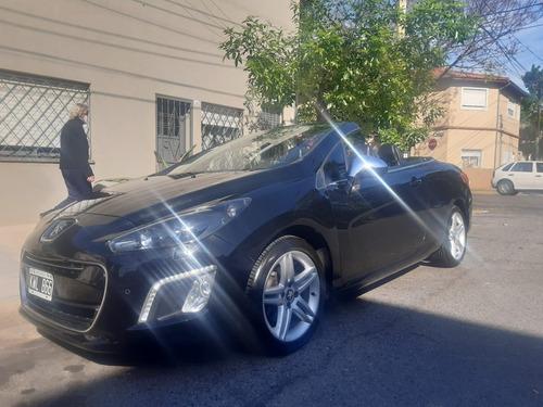 peugeot 308 cc descapotable,cabriolet mod 2012 74 mil km tit