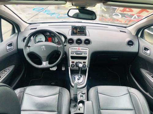 peugeot 308 griffe thp 2014 teto top automatico veiculo novo