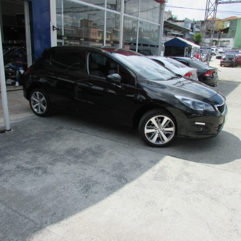 peugeot 308 griffe thp at 2017 preto