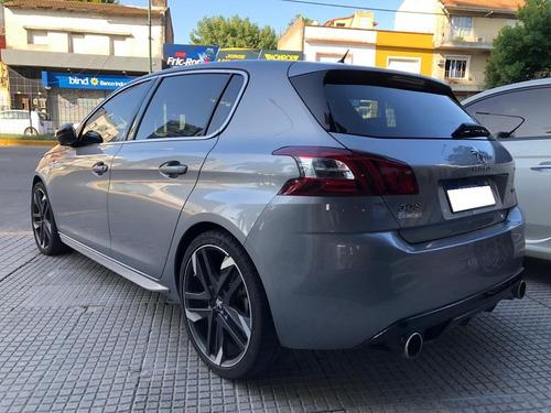 peugeot 308 gti 5 puertas  2018 c/29000 km pro seven!!