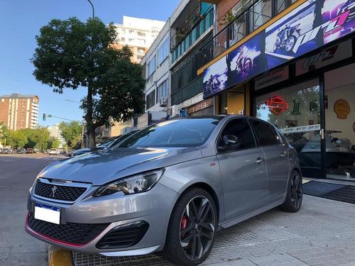peugeot 308 gti 5 puertas 2018 con 29000 km pro seven!!