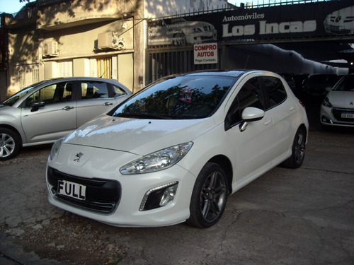 peugeot 308 sport thp tiptronic 2014 impecable