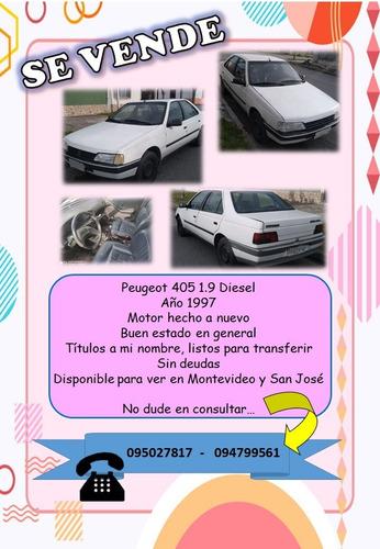peugeot 405, diesel