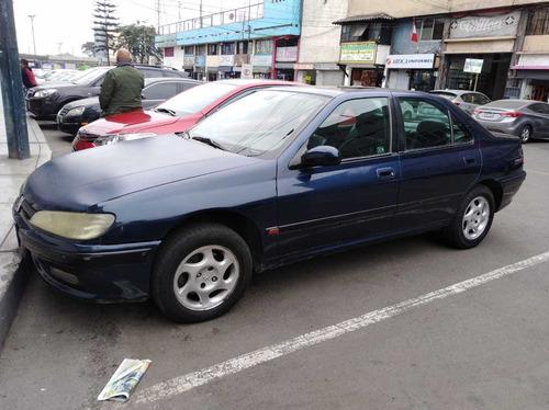 peugeot 406 año 1998 sedan, buen estado mantenimiento al día