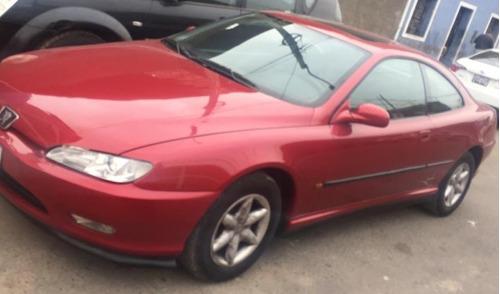 peugeot 406, color rojo, motor 1998 cc, 3 puertas, coupe