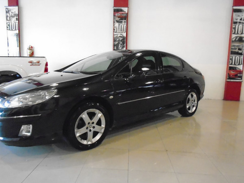 peugeot 407 sport hdi 2007, color negro 4 puertas, impecable