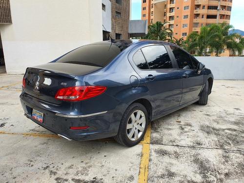 peugeot 408 2.0 2012 azul sedan