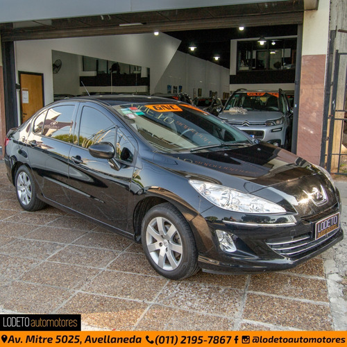 peugeot 408 2.0 allure gnc 2014 anticipo/financiacion/permut