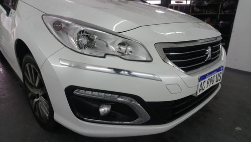 peugeot 408 2016 2018 protectores paragolpes cromados 30 mm