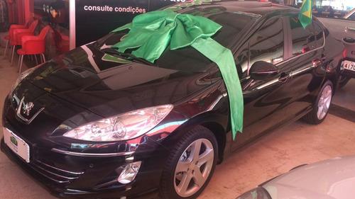 peugeot 408  automático top 2012. financiamento facilitado