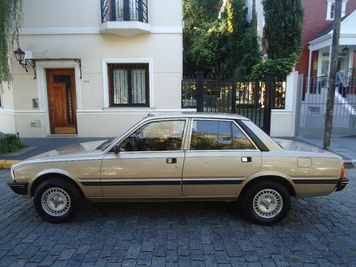 peugeot 505 2.0 sr 5p unico dueño 1982 gpdevoto