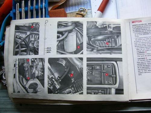 peugeot 505  libro de conduccion y caracteristicas 1981