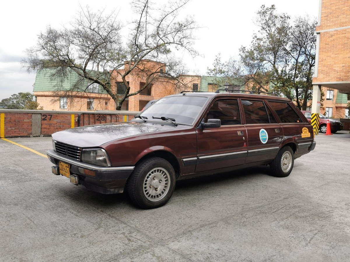 Peugeot 505 Sri Sw 7 Pasajeros Muy Buen Estado 9 000 000 En Tucarro