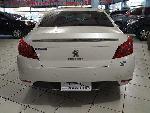 peugeot 508 1.6 16v thp gasolina 4p automático