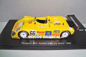 Spark Peugeot 905 #1 Ganador Le Mans 1992-escala 1//43