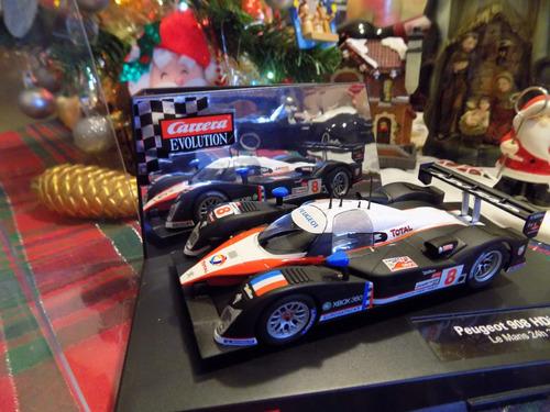 peugeot 908 lemans 2007.pistas carrera/scalextric e-l 1/32.
