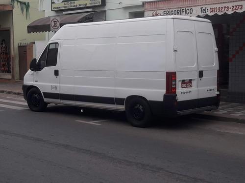 peugeot boxer furgon 2.3 hdi 350lh longo teto alto vitré 5p