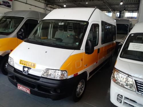 peugeot boxer minibus 2.3 hdi 330m médio 15l 5p 2011