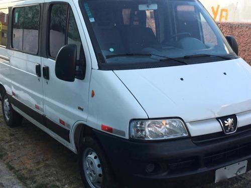 peugeot boxer minibus 2.3 hdi 330m médio 15l 5p com ar