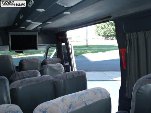 peugeot boxer minibus 2.3 t.alto 15 lugares.