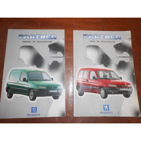 Peugeot Partner  Manual Del Usuario Original !!!