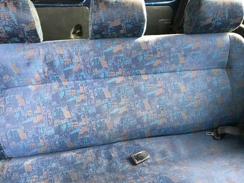 peugeot partner 1.9 d furgon plc vidriada y asientos 2001