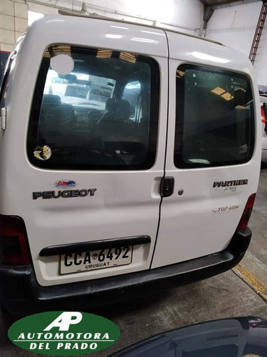 peugeot partner - diesel 1.9 - homologada 5 pasajeros