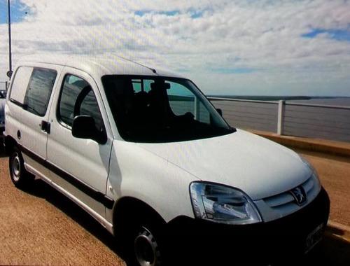 peugeot partner furgon 2014 gnc airbag abs plc