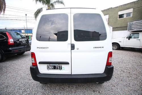 peugeot partner furgon hdi confort 5 asientos 2 portones lat