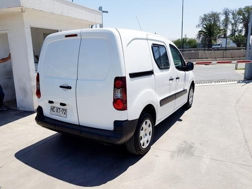 peugeot partner hdi 1.6 furgon año 2015