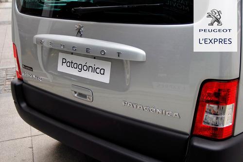 peugeot partner patagonica  nafta 1.6 115 cv (m)